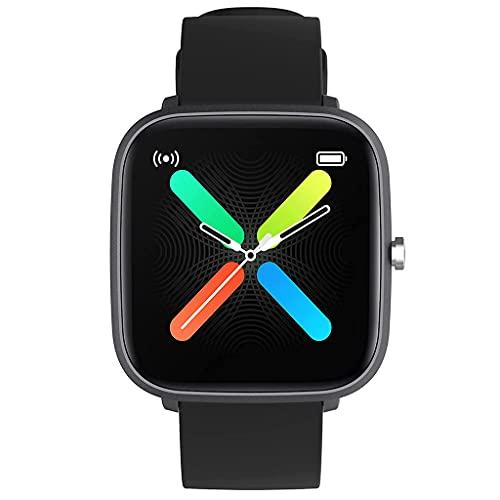 DSJMUY Smart Watch,Reloj Inteligente con Oxígeno Sanguíneo Presión Arterial Frecuencia Cardíaca,Pulsera Actividad Impermeable IP67 para Hombre Mujer para iOS Android