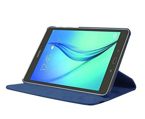 Tasche für Samsung Galaxy Tab S2 9.7 SM-T810 T811 T813 T815 T819 9.7 Zoll Schutz Hülle Flip Tablet Cover Case S 2 (Blau)