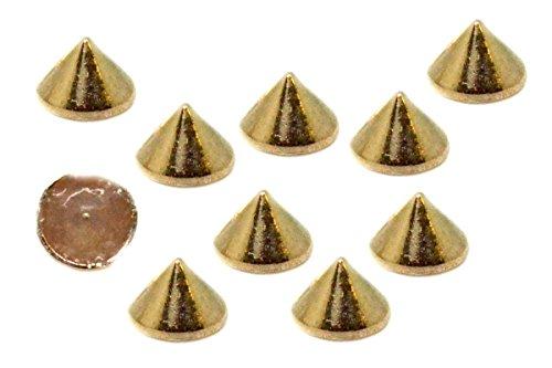 Pirámide postes libre de óxido Rock Calzado Craft Bolso De Cuero Biker Gótico 8 10 12 mm