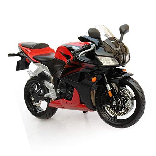 GXJU Juguete Modelo de Motocicleta a Escala 1:12 para CBR600RR Modelo Modelo Diecast Modelo De Metal Carrera Deporte Modelo Motorista Motorbike Colección Regalo Juguetes Decoración