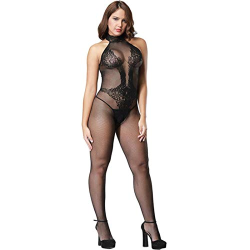 GoodLuck Sexy Dessous Teddys Bodysuits Heiße erotische Dessous Open Crotch Elastizität Mesh Body Strümpfe Hot Porn Sexy Unterwäsche Kostüme