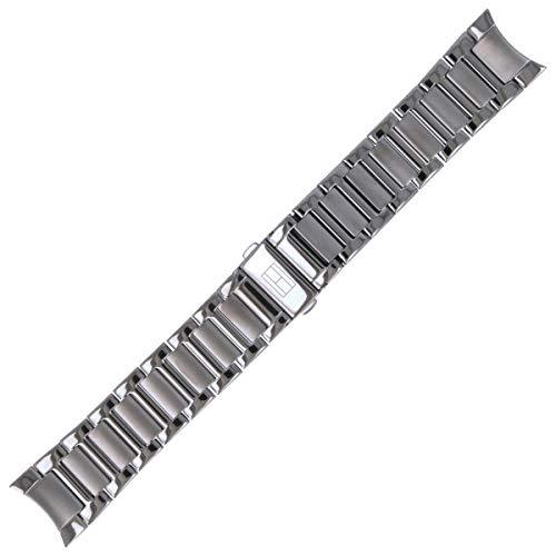 Tommy Hilfiger Uhrenarmband 22mm Edelstahl Grau - 679001371