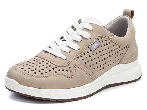 XTI 49892.0, Zapatillas Mujer, Beige (Beige Beige), 39 EU