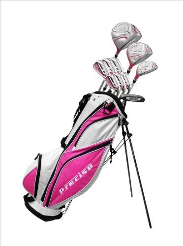 Precise Premium Petite Complete Set, Ladies, Right Hand, Pink, 1-Inch