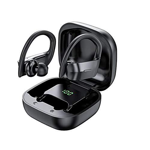 SHENXI Cuffie Bluetooth Sport,Auricolari Bluetooth Senza Fili, 9D cuffie In-Ear con Microfono,impermeabili IPX7 con HiFi Stereo,Auricolari sportivi per in Correre Workout, Gym