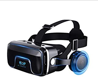 VR Casque 3D VR Lunettes Casque Réalité Virtuelle Compatible avec Autres Smartphones sous Android 4.5-6.3