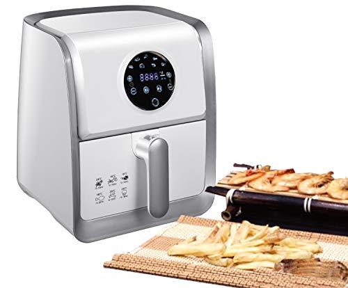 7in1 Heißluftfritteuse | 1.400 Watt | 7 Programme | Sensor Touch Display | 60 Minuten Timer | Temp. Regler 60°C-200°C | Kapazität: 3,2 Liter | Heißluft Fritteuse | Airfryer | Fritöse | Friteuse |