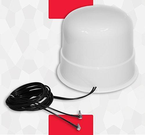 Theta Communication 30dbi OMNIDIRECCIONAL 4g 3g LTE MIMO EXTERNA Antena Amplificador de Señal casa barco autocaravana Huawei Elevador E5180 E5377 E3272 E3372 E3276 Crc9