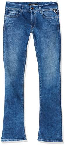 Replay Luz Bootcut, Jeans Skinny Donna, Blu (Medium Blue 9), No Aplica /L32 (Taglia Produttore: 25)