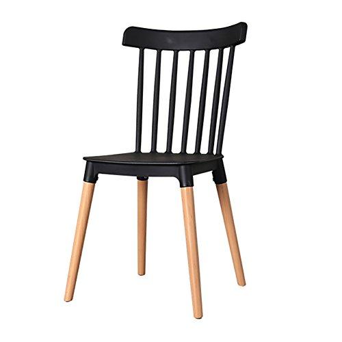 GY Chaise - Chaise de Salle à Manger en Bois Massif PP Simple, Chaise créative avec Pieds en Bois Massif Naturel, Salon, Chambre à Coucher, Chaise de Salle à Manger (Taille 84X43X46 cm) /+-+/