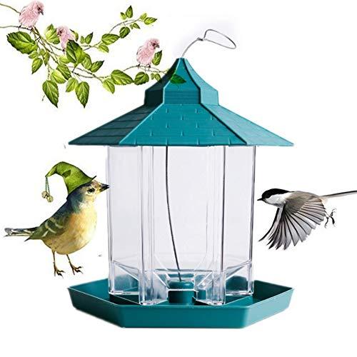Comedero para Pájaros Silvestres Que Cuelga para La Decoración Exterior del Jardín,...