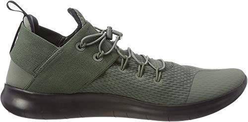 Nike Mens Free RN CMTR 2017 Low Top Bungee Running Sneaker, Green, Size 9.0