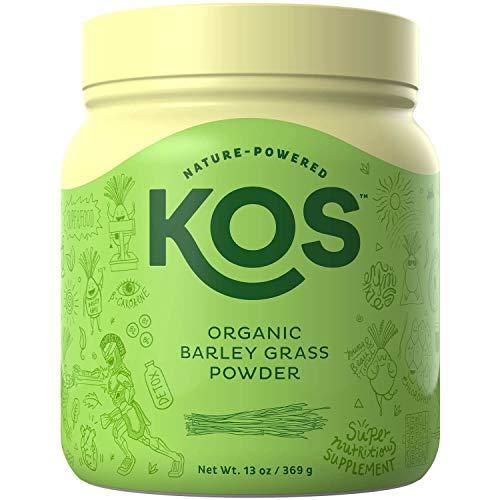 KOS Organic Barley Grass Powder review