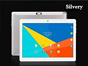 Studyset S10 10.1 Inch 2.5D Screen 4G-LTE Tablet PC Android 8.0 8+128GB Dual SIM Tablet PC Silver US Plug