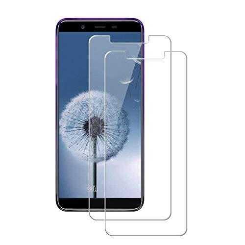 MSOSA [2-Pack Protector de Pantalla para Oukitel U25 Pro, Cristal Templado para Oukitel U25 Pro,[9H Dureza] [2.5D Touch] [Alta Definicion 0.3mm]-Transparent