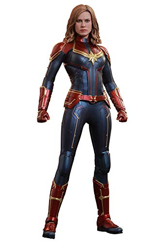 Hot Toys Avengers Movie Masterpiece Series MMS 521 Captain Marvel 1/6 Sixth Scale Collectible Action Figure