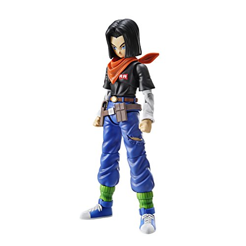 Bandai Hobby- Androide A17 Model Kit 14 cm Dragon Ball Z Figure-Rise Standard 83584P (BDHDB156383)