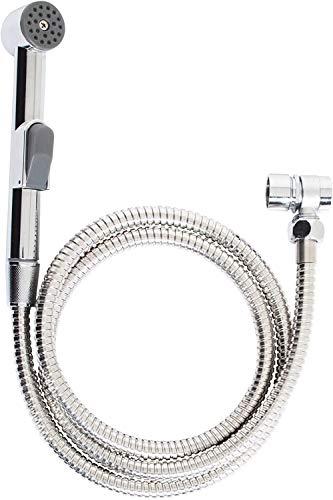 Waschbeckenbrause   Duschkopf   Friseurdusche   Bidet Handbrause   WC-Dusche inkl. Schlauch und Adapter   Handbrause Duschkopf mit Stoppfunktion   Inkl. Wandhalterung für Brause