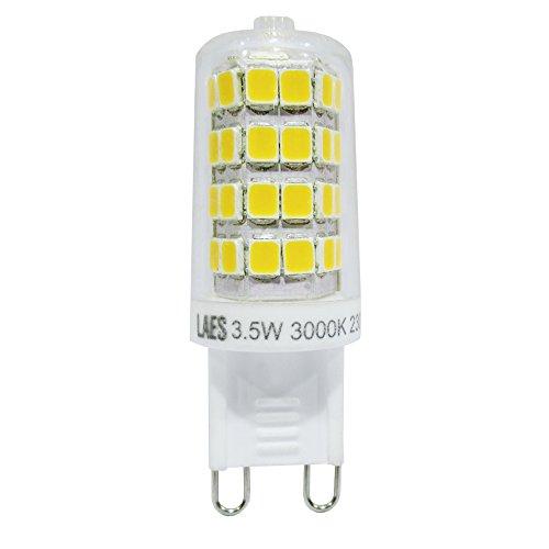 Laes 985948 Bombilla Hi-Volt Pin LED Clara G9, 3.5 W, 16.5 x 49 mm