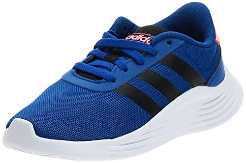 ADIDAS EG6906, Football Shoe, Azurea/Negbás/Corsen, 34 EU