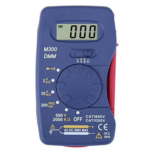 prettygood7 multimeter digitale multimeter M300 ultradunne mini Pocket geïntegreerde multimeter