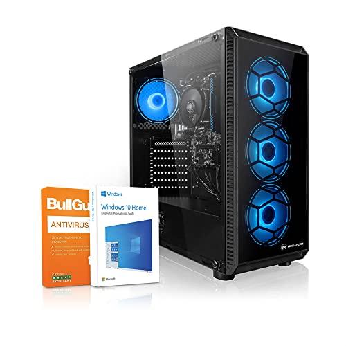 PC Megaport Ordenador AMD Athlon 3000G 2X 3.50GHz • AMD Radeon Vega 3 • 8GB DDR4 • 1TB • USB3.0 Desktop pc • 1TB Disco Duro • Windows 10