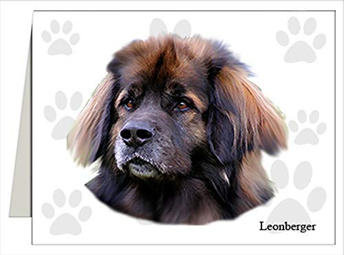 Leonberger Note Cards Year-end gift