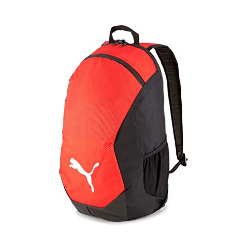 PUMA teamFINAL 21 Backpack Mochilla, Unisex-Adult, Red Black, OSFA