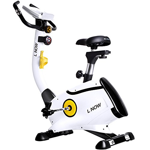 L NOW pooboo Upright Bike Magnetic Resistance Exercise Bike...
