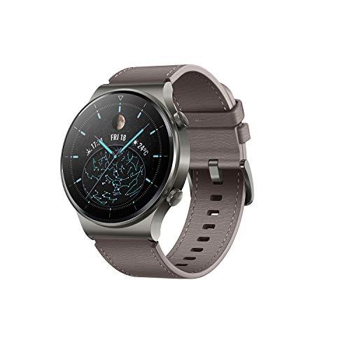 Huawei Watch GT 2 Pro Smartwatch + Freebuds 3i, AMOLED Touchscreen, 1,39 Zoll, 2 Wochen, Akkulaufzeit, GPS & GLONASS, SpO2, mehr als 100 Trainingsmodi, Anrufe über Bluetooth, Schwarz