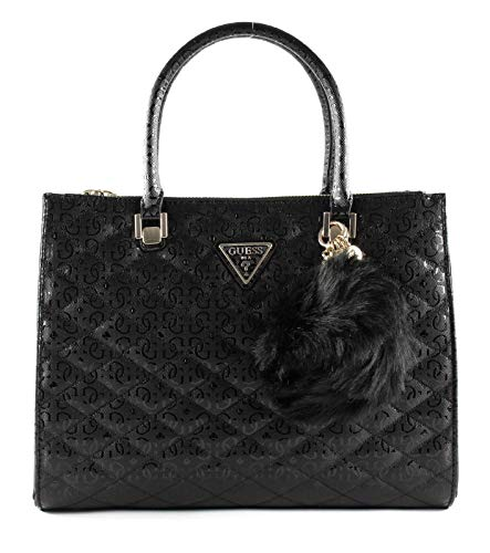 Guess Astrid Status Satchel L Black