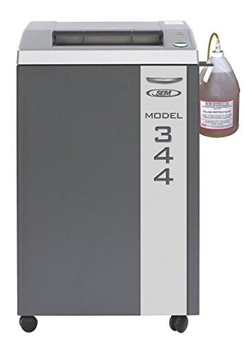 Check Out This SEM Model 344 NSA Listed, Level 8 High Security Paper Shredder w/Auto Oiler