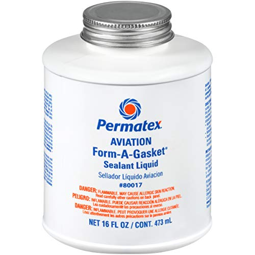 Permatex 80017 Aviation Form-A-Gasket No. 3 Sealant, 16 oz.