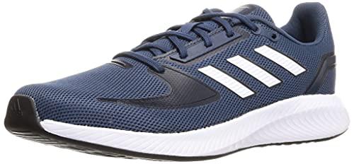 adidas RUNFALCON 2.0, Zapatillas de Running Hombre, AZMATR/FTWBLA/Tinley, 39 1/3 EU