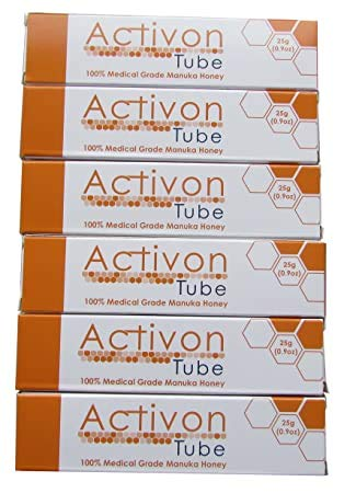 Activon Medical Grade Honey 25g (Pack of 6)