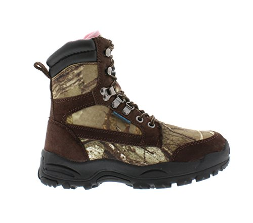 Itasca Women's Long Range Waterproof Hunting 800g Thinsulate Ultra, Size 6 Hiking Boot, Brown/Camouflage, 6.0 D US