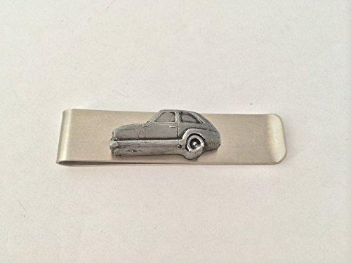 Geldklammer aus Edelstahl mit einem Bond 875 (Dreiräder), 3D-Emblem mit Zinn-Effekt, ref32