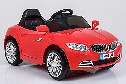 Ricco S2188 'Lights and Music Pink BMW Style Kids Ride on' Remote Control...