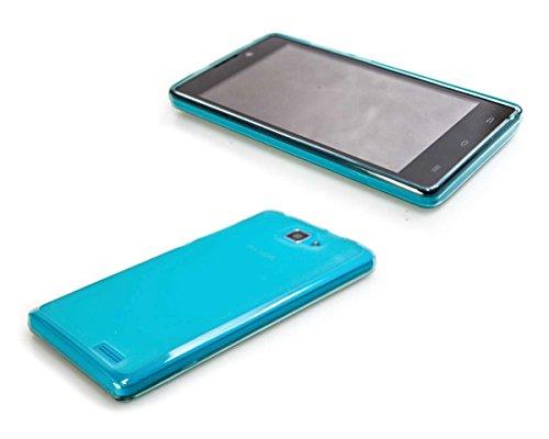 caseroxx TPU-Hülle für Archos 50 Neon, Handy Hülle Tasche (TPU-Hülle in hellblau)