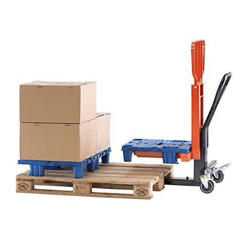 Display-Palettenheber, Hubbereich 90 – 390 mm Tragfähigkeit 250 kg - Hubwagen lifting cart