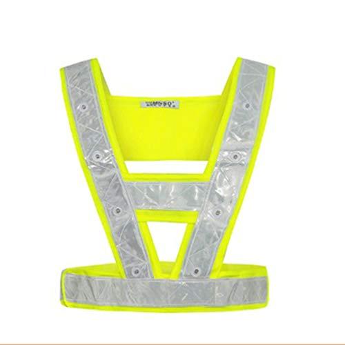VORCOOL LED Reflective Vest Safety Outdoor Running High Visibility...