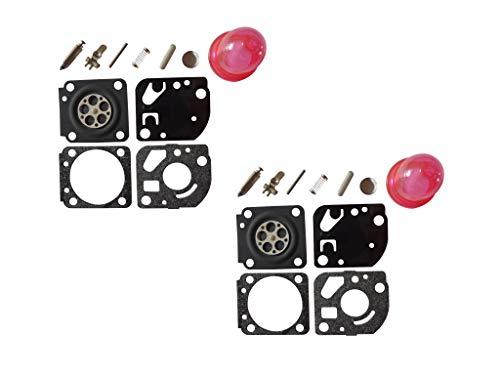 Lot de 2 C/·T/·S Joint de carburateur et kit de diaphragme remplace ZAMA GND-41 pour carburateur ZAMA C1Q Echo SRM2305 GT2150 SRM2100 PB2100