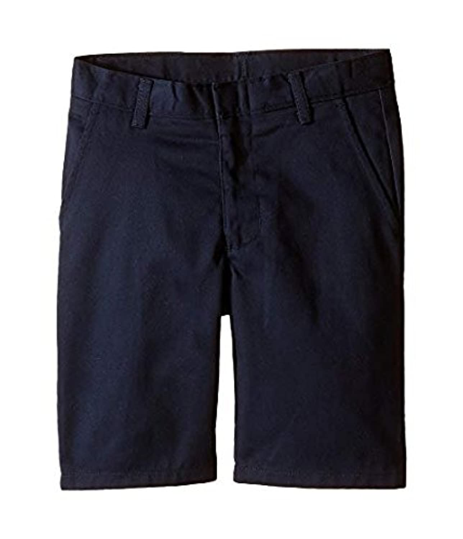 ノーティカ Nautica Kids キッズ 男の子 ショーツ 半ズボン Navy Flat Front Twill Shorts (Little Kids Big [並行輸入品]