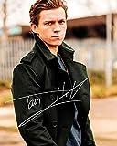 DS Tom Holland Signiert Autogramme 21cm x 29.7cm Plakat