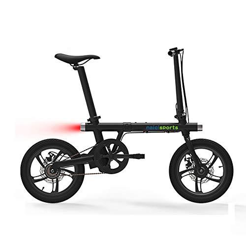 FJW Unisexo Bicicleta Eléctrica Plegable - Portátil y fácil de almacenar Litio-Ion...