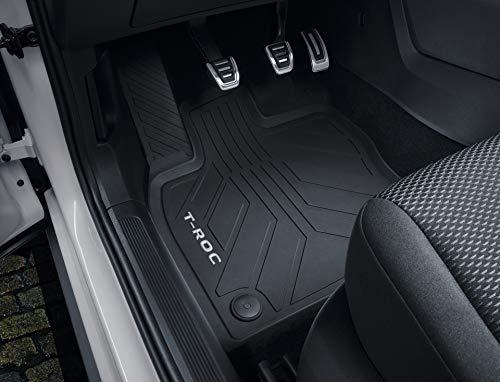 Volkswagen 2GA06150082V Allwetterfußmatten Gummi Fußmatten schwarz 4X Gummimatten