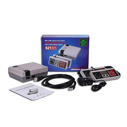 Mini consola retro clásica-Salida HDMI- viene con dos asas de control: 621 videojuegos clásicos incorporados