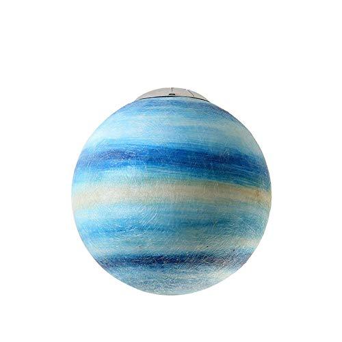LLT Planeta Araña Nórdica Resina Creativa Techo Luz Colgante E27 Lámpara Certificación Ce/Erp Certificación Universo Tierra Sun Moon Venus Júpiter Urano Mars Saturno Colgante Lámpara,Urano,Ø11.8In