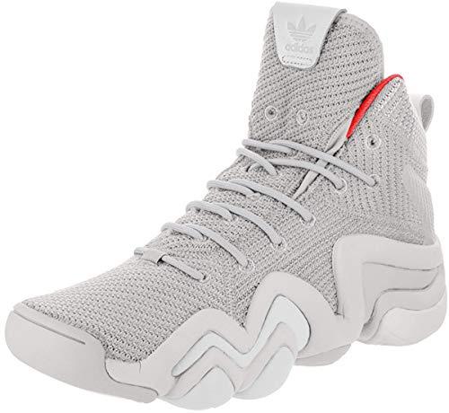 adidas Men Originals Crazy 8 ADV Shoes CQ1013 (9 M US), Grey Two/Ftwr White/Hi-res Red