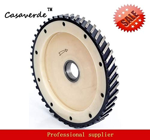 Best Prices! Xucus DC-SGW16-2 D400mm 16 inch with segment 25mm silent diamond milling wheels for gra...